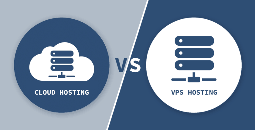 VPS vs. Cloud Hosting for your new website?